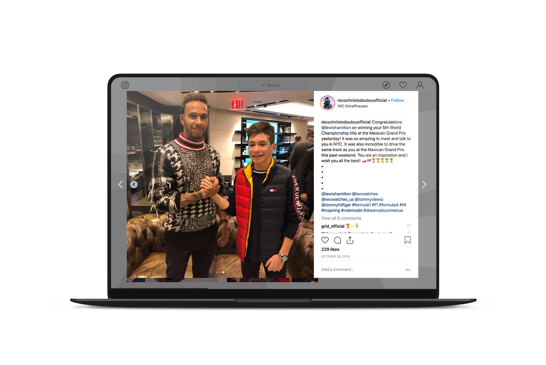 Nico & Lewis Social Media Mockup