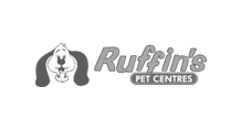 Ruffins Logo Black and White