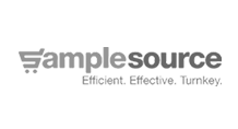 Sample Source Logo Black and White