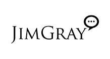 Jim Gray Logo Black