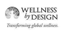 Wellness by Design logo black and white