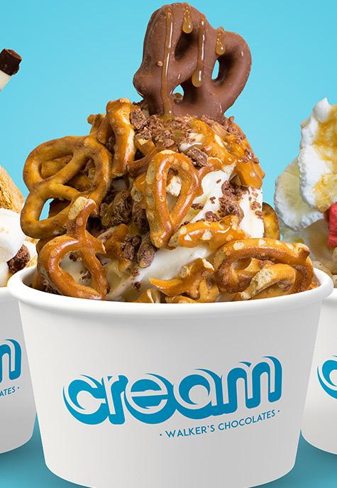 Cream by Walker's ice cream image