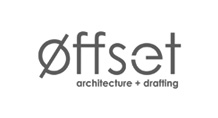 Offset Architecture logo black and white