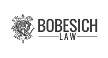 Bobesich Law Logo black and white