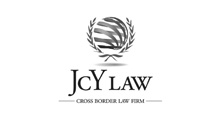 JCY Law Logo black and white