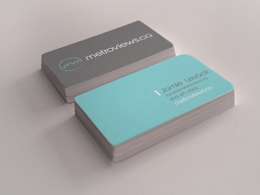 Metroviews Business Cards