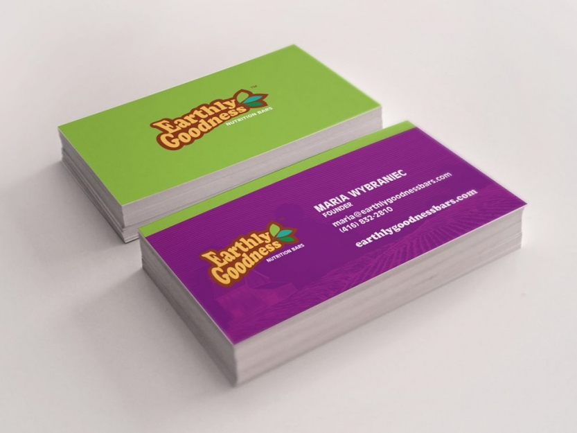 Earthly Goodness Business Cards