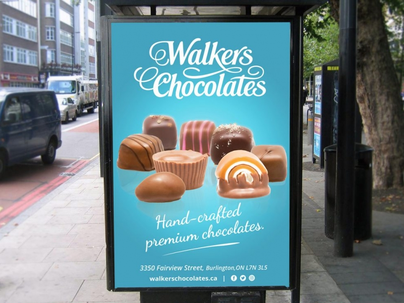 Walker's Chocolates Bus Stop
