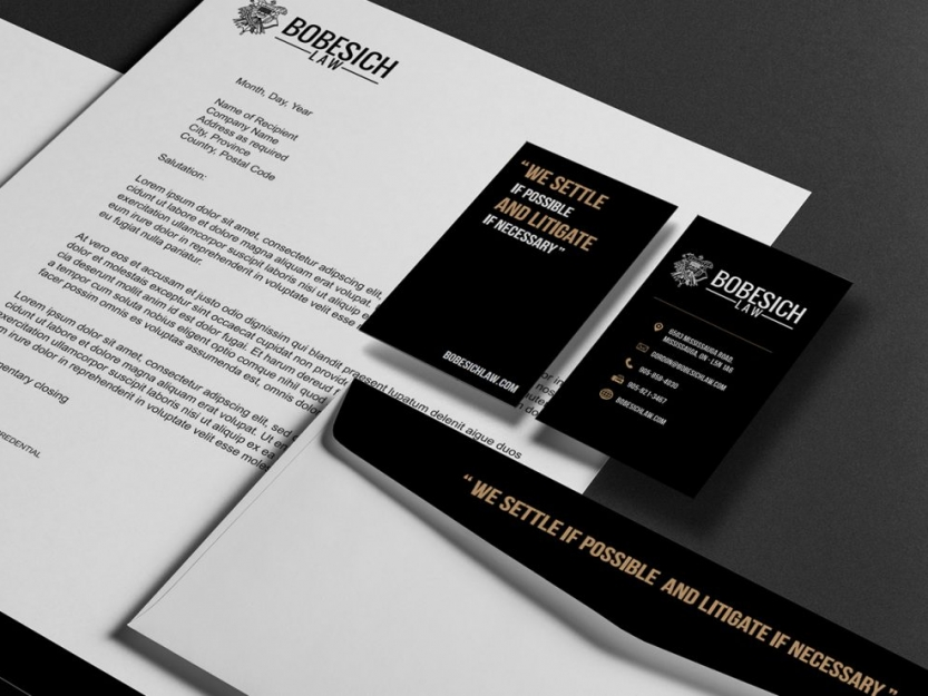 Bobesich Law Stationary