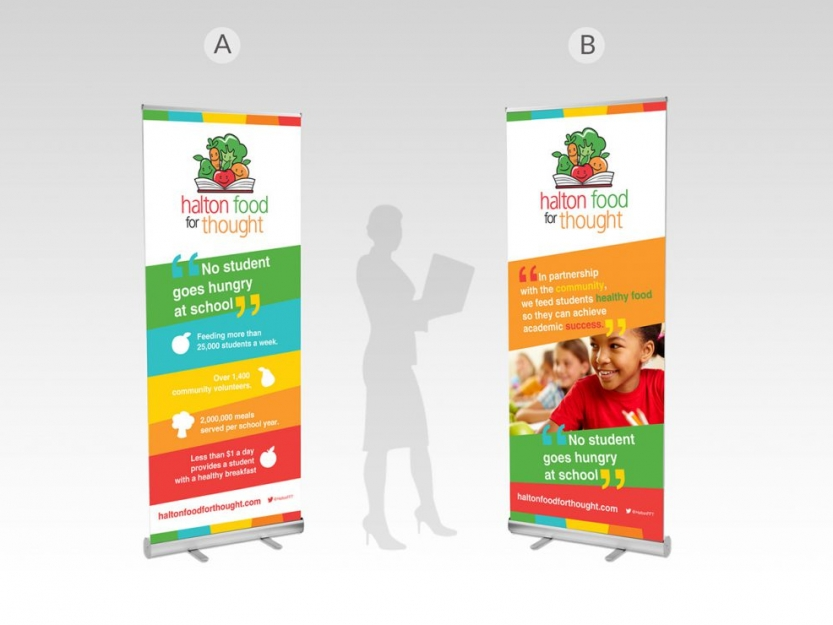 Halton Food For Thought Banner