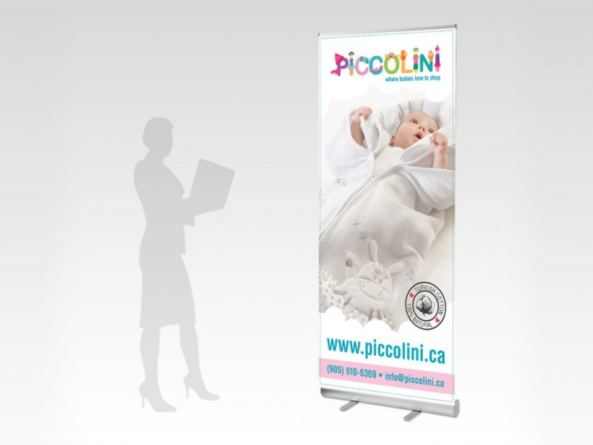 Piccolini Pull Up Banner