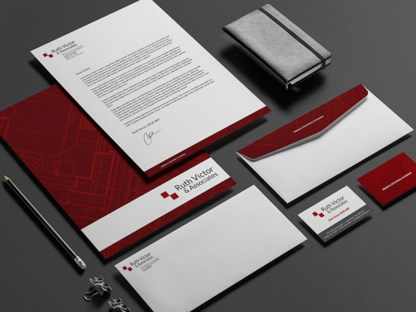 Ruth Victor & Associates Stationary