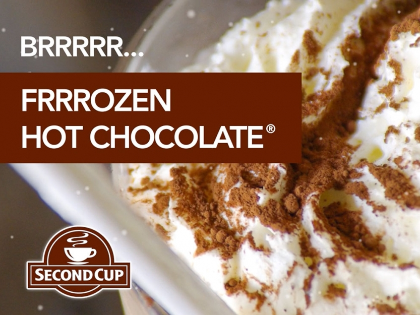 Second Cup - Frozen Hot Chocolate